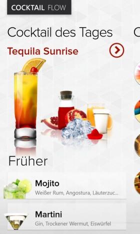 Cocktail Flow App teaser