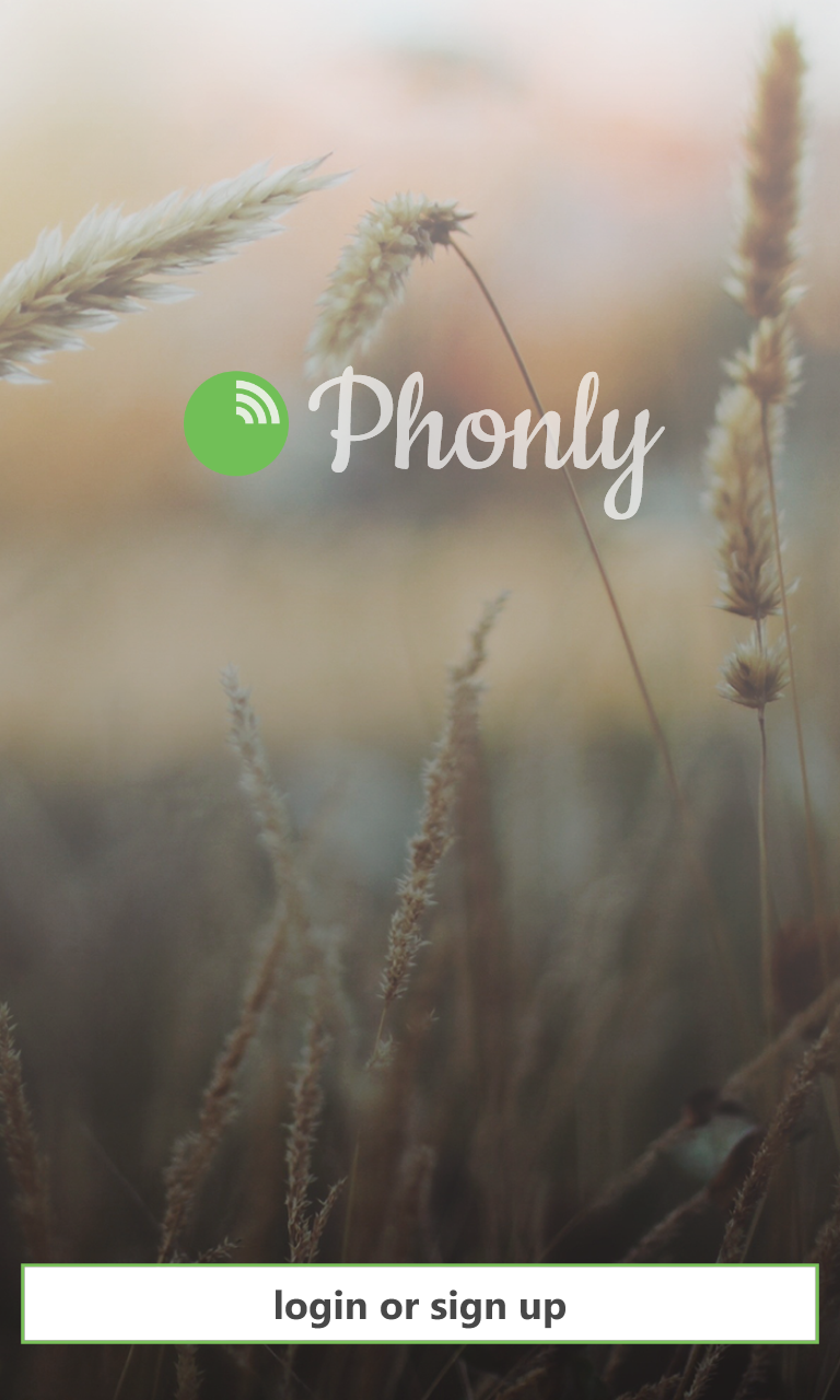 Phonly-WindowsPhone-App-Splash-Screenshot