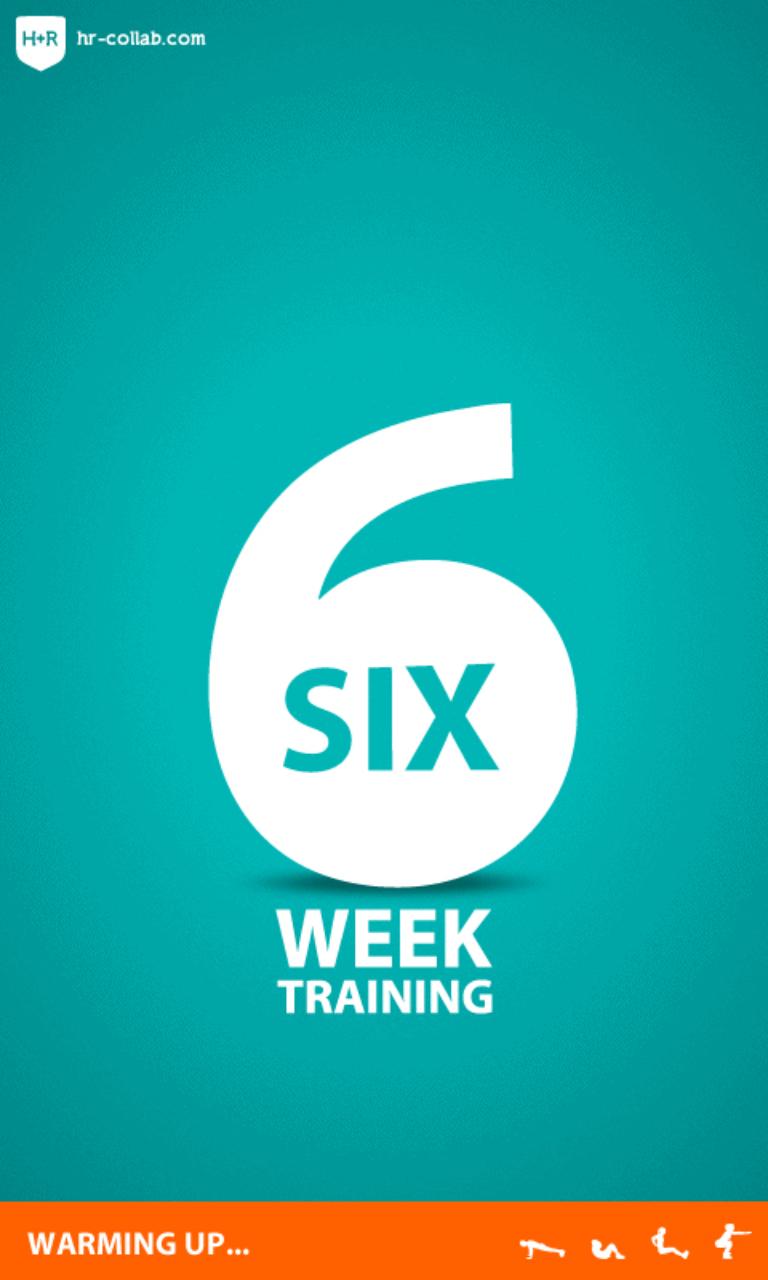 Six Week Splash Screen